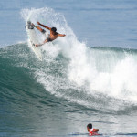 Rounds 1 and 2 Completed at Quiksilver Open Keramas presented by Jim Beam