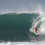 Day Two at the Quiksilver Open Keramas presented by Jim Beam treated by bigger surf