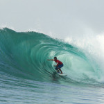 Big Green Sanur Reef Barrels Make for Epic Round 4 Action on Day 3 of Rusty's Rumble in Da Jungle