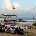 Oakley O ROKR Pro completes Round 1 Today at Kuta Beach