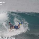 Body boarding @ Uluwatu / 4th May '09