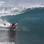 Bodyboarding @ Uluwatu, 20th June '09