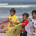 Trial Rounds Completed on Day 1 of Quiksilver King of the Groms at Kuta Beach