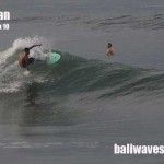 Todays Bali surf & weather report, 29th Jan '10