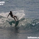 Bali surf and weather report, 11th Feb '10