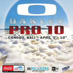 Oakley to kick off 2010 with the Oakley Pro 2010 at Canggu Beach
