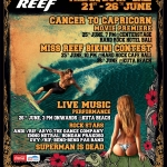 Reef Indonesia Presents Reef Bali Pro 2010, a 6-Star ISC Tour Event on June 21-26 – with Cancer to Capricorn Movie Premiere and Miss Reef Bikini Competition