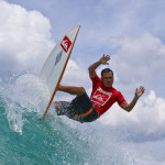 Tipi Jabrik from Indonesia Wins Quiksilver Thailand Surf Competition 2010 in Kata Beach Thailand