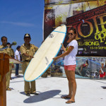 Opening Ceremony and Good Waves on Day One of Rote Open 2010 Presented by Billabong