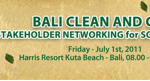 Bali Clean and Green Multi-Stakeholder Networking for Solutions Forum