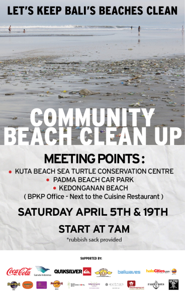 BEACH CLEAN UP BANNER MARET 2014_english