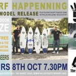 "CHANNEL ISLANDS Surfboards ""surf happening"" new model release and movie night"