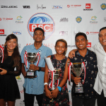 Asia's Surfing Champions Party with Celebrity Luna Maya at 2015 ASC Awards in Bali