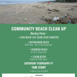 Help keep Bali's beaches clean, take part don't just talk about it.