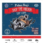 "PADMA BOYS ""drop the anchor"" Surf Comp 1st-2nd Oct 2016"