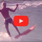 Jim Banks surfs Uluwatu / Bali in 1977