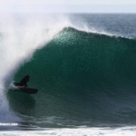 back in time, G-LAND bodyboard barrels – Dave Tinson