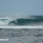 Bingin does barrel 16th – 17th June 2017
