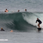 BALI SURF REPORT, East Coast on shore 4th – 5th September 2017