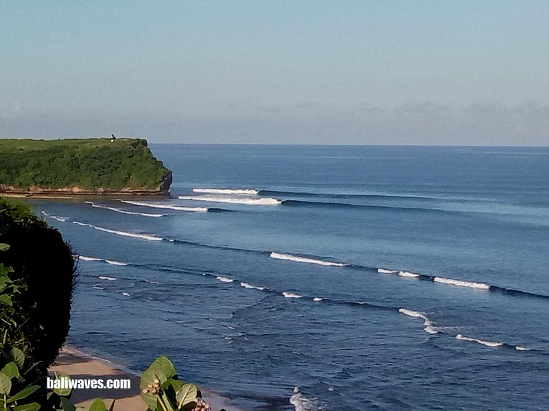 BALI SURF REPORT, West Coast Bali 19th March 2018