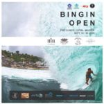 The most anticipated annual surfing contest the BINGIN OPEN 2018