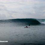 BALI SURF REPORT, East Coast Serangan 15th January 2019